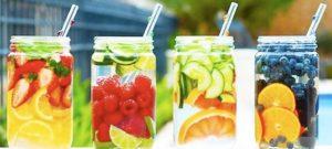 fruit water flavors