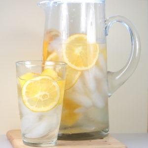 orange pineapple water